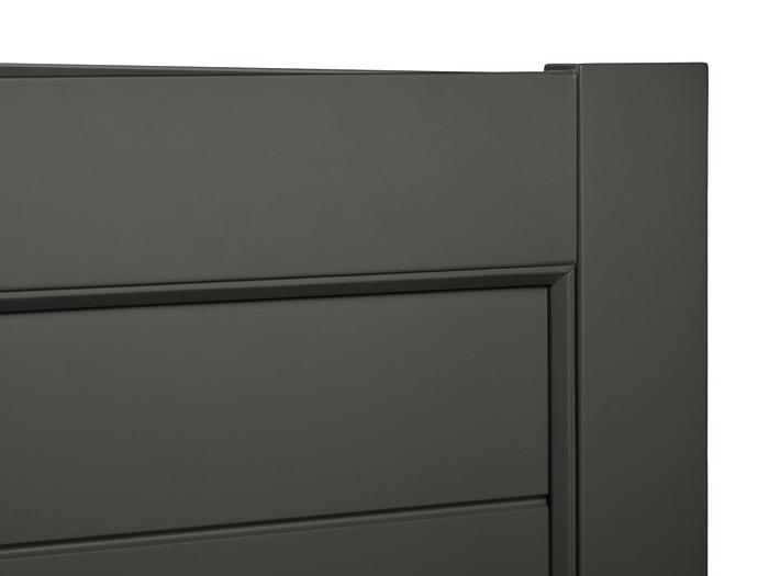 Soho Dark Grey Cot - Details View