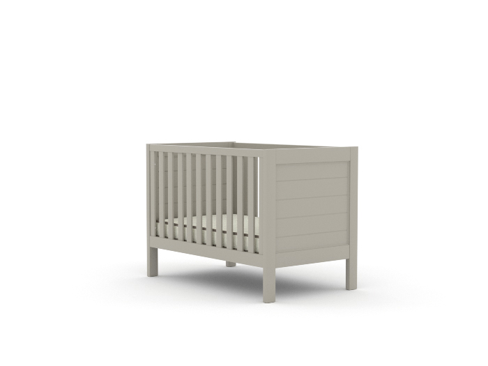 Soho Grey Wooden Cot