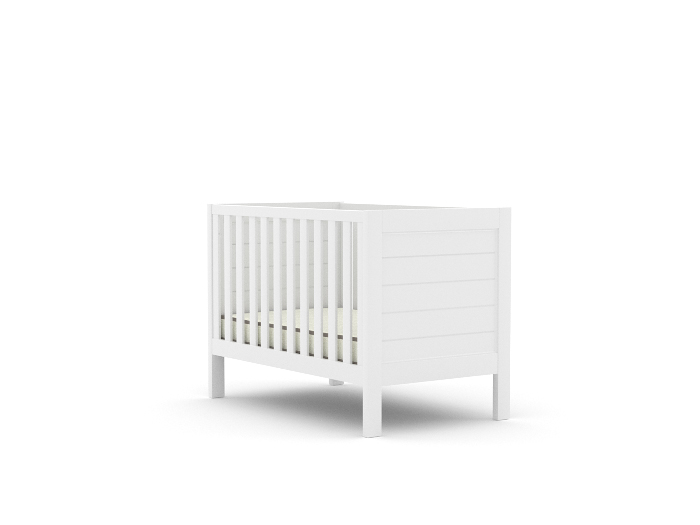 Soho White Wooden Cot