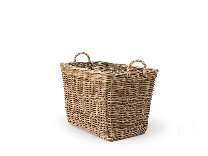 Studio Cane Medium Storage Basket   Bedtime.