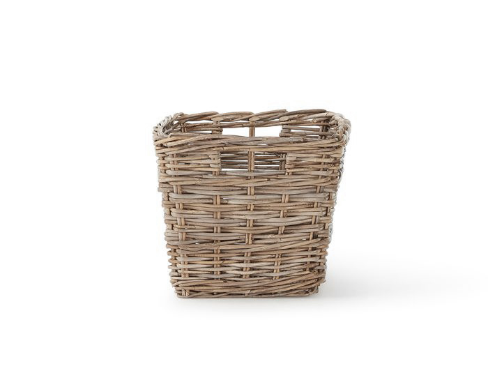 Tapered Rectangular Basket | Now On Sale | End View |Bedtime.