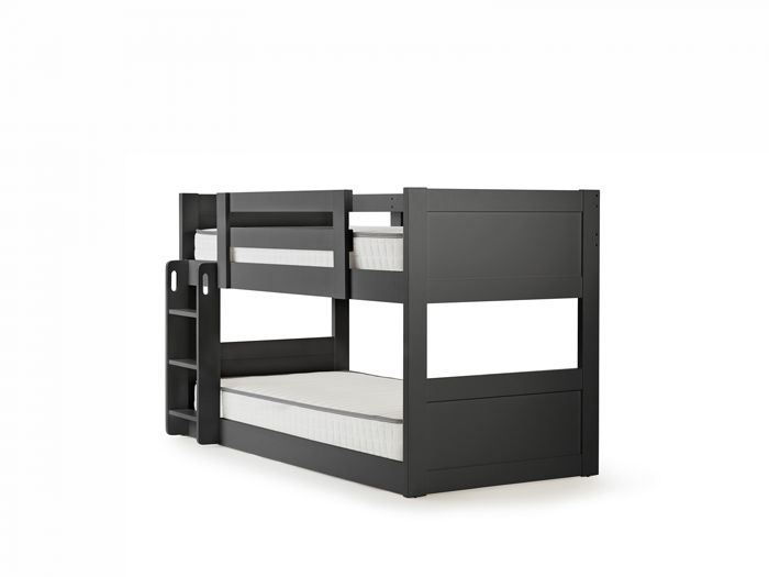 Town & Country Graphite Single Low Bunk Bed | Now On Sale | Bedtime.
