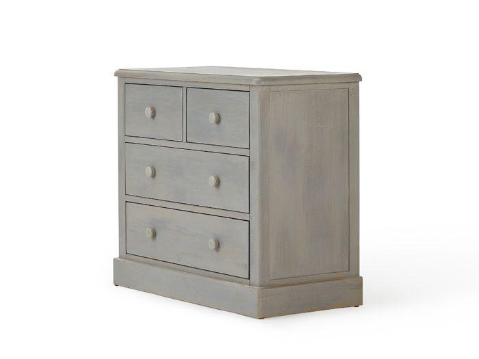Woody Greywash 4 Drawer Dresser | Now On Sale | Bedtime.