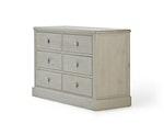 Woody Greywash 6 Drawer Dresser