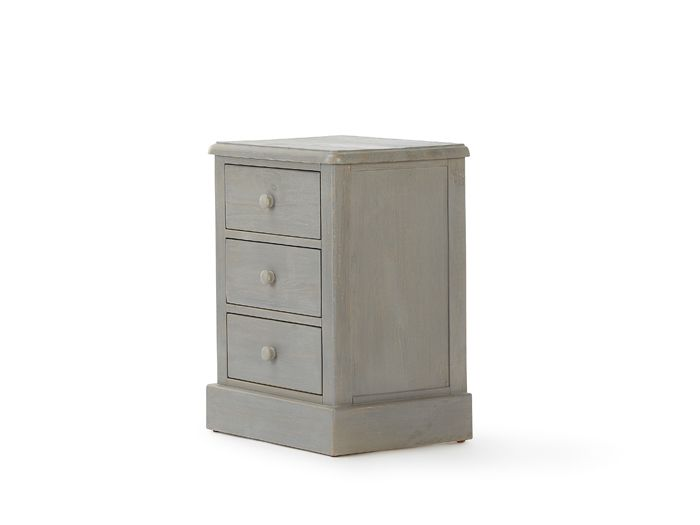 Woody Greywash Bedside Table | Now On Sale | Bedtime.