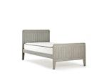 Woody Greywash Single Bed