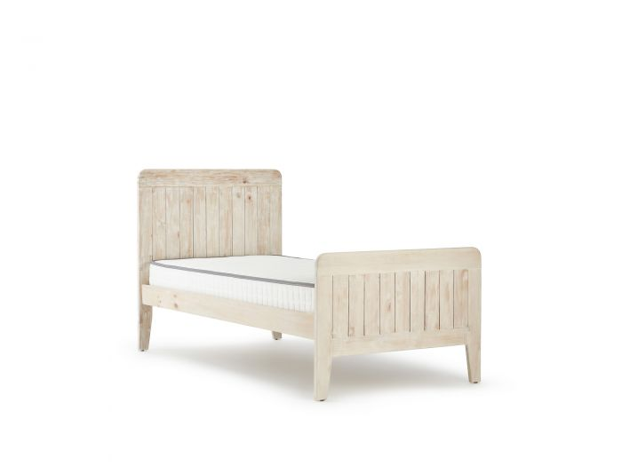 Woody Whitewash Single Bed | Now On Sale | Bedtime.