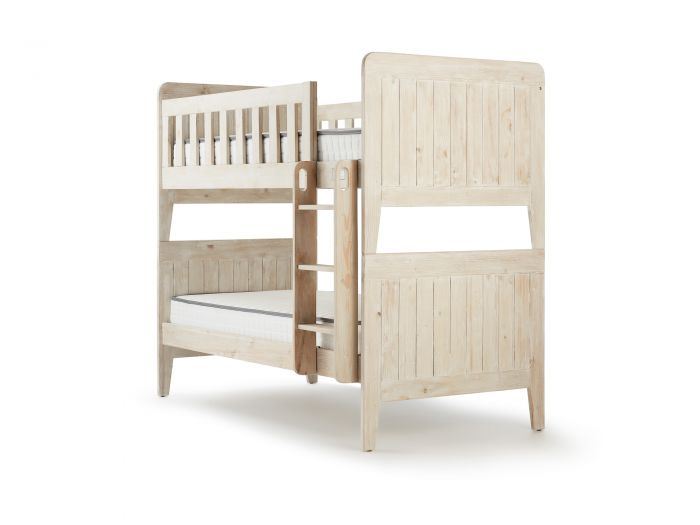 Woody Whitewash Bunk Bed | Now On Sale | Bedtime.