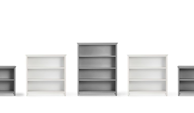 Three shelf bookcases | Now On Sale | Bedtime.